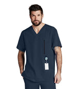 Barco One Scrub Top XS / 905 Steel Men's Amplify Scrub Top