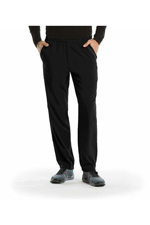 Barco One Scrub Pant 4 Way Stretch XS / Black / 50% Polyester / 43% Recycled Polyester/ 7% Spandex Barco One | Men's Vet Scrub Pant 0217 Stout