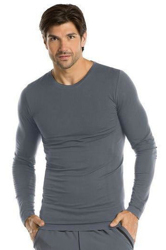 Barco One - Men's Nurse Long Sleeve Top 0305 Under Shirt Barco One XS/S Granite 60% Poly / 23% Nylon / 7% Spandex