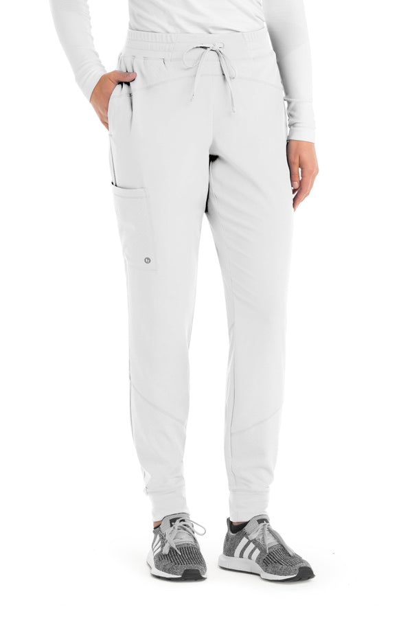 Barco One Scrub Pant XXS / 10 White Ladies Boost Jogger Scrub Pant