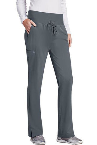 Barco One Scrub Pant 4 Way Stretch XXS / Granite / 50% Poly/43% Recycled Poly/7% Spandex Barco One Ladies Vet Pant 5206