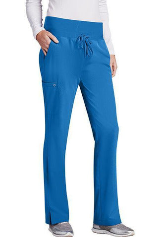 Barco One Scrub Pant 4 Way Stretch XXS / New Royal / 50% Poly/43% Recycled Poly/7% Spandex Barco One Ladies Vet Pant 5206