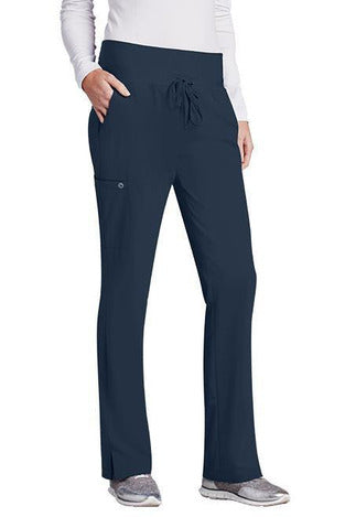 Barco One Scrub Pant 4 Way Stretch XXS / Steel / 50% Poly/43% Recycled Poly/7% Spandex Barco One Ladies Vet Pant 5206