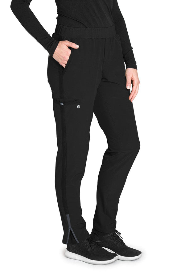 BarcoOne Wellness Scrub Pant 2XL / 01 Black Ladies Radiance Scrub Pant 2XL-3XL