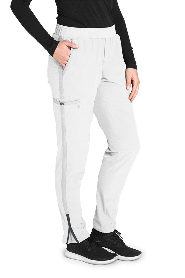 BarcoOne Wellness Scrub Pant 2XL / 10 White Ladies Radiance Scrub Pant 2XL-3XL