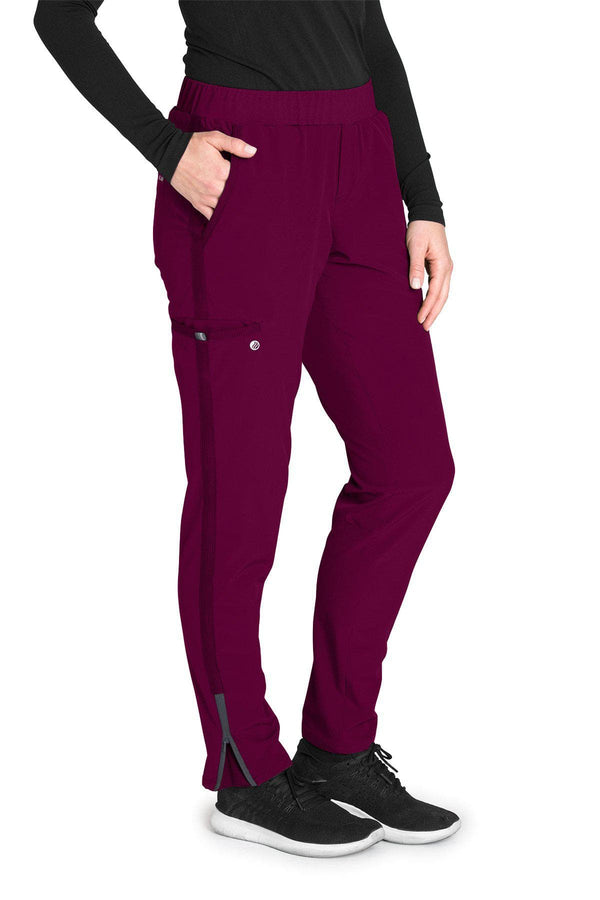 BarcoOne Wellness Scrub Pant 2XL / 65 Wine Ladies Radiance Scrub Pant 2XL-3XL
