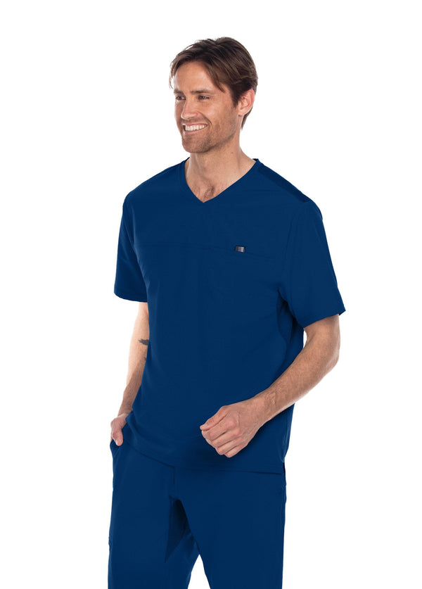 BarcoOne Wellness Scrub Top XS / 23 Indigo Men's Summit Scrub Top