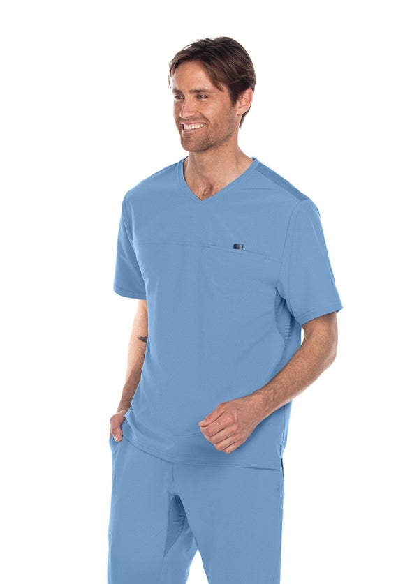 BarcoOne Wellness Scrub Top XS / 40 Ciel Men's Summit Scrub Top
