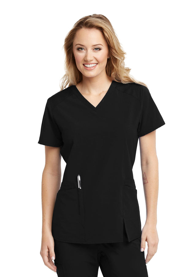 BarcoOne Wellness Scrub Top XXS / 01 Black Ladies Eclipse Scrub Top