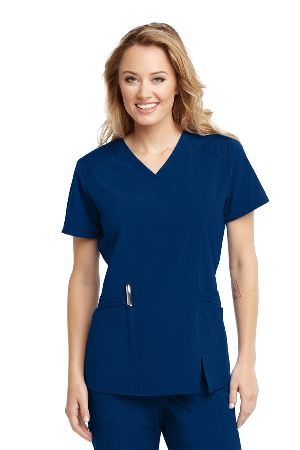 BarcoOne Wellness Scrub Top XXS / 23 Indigo Ladies Eclipse Scrub Top