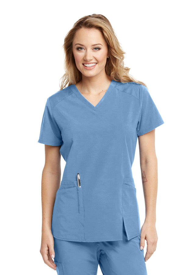 BarcoOne Wellness Scrub Top XXS / 40 Ciel Ladies Eclipse Scrub Top