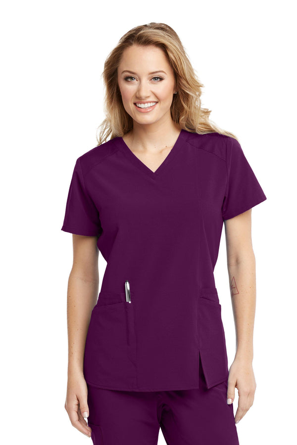 BarcoOne Wellness Scrub Top XXS / 65 Wine Ladies Eclipse Scrub Top