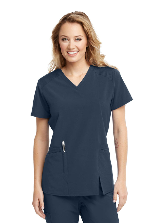 BarcoOne Wellness Scrub Top XXS / 905 Steel Ladies Eclipse Scrub Top