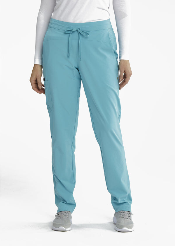 BarcoOne Wellness Scrub Top XXSP / 1968 Aqua Sea Ladies Eclipse Scrub Pant Petite