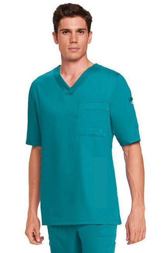 Grey's Anatomy - Mens Nurse Scrub Top 2XL-5XL 0103 Scrub Top 2 Way Stretch Grey's Anatomy