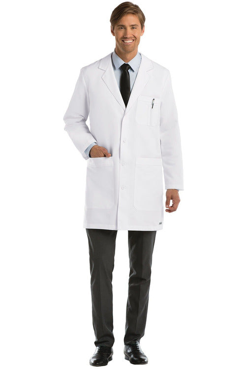 "Greys Anatomy - Men's 37"" LAB COAT 0914 Lab Coats Grey's Anatomy"