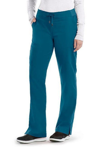 Grey's Anatomy Scrub Pant 2 Way Stretch 2XL / Bahama / 77% Polyester / 23% Rayon Grey's Anatomy - Ladies Nurse Scrub Pant 2XL-5XL 4277
