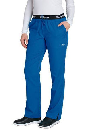 Grey's Anatomy Scrub Pant 2 Way Stretch 2XL / New Royal / 77% Polyester / 23% Rayon Grey's Anatomy Active - Ladies Best Nurse Scrub Pant XL-5XL 4275