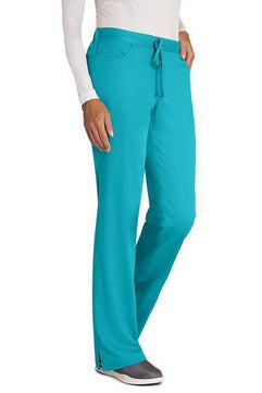 Grey's Anatomy - Women's Nurse Scrub Pant 4232 2XL - 5XL Scrub Pant Grey's Anatomy 2XL Teal 77% Polyester / 23% Rayon