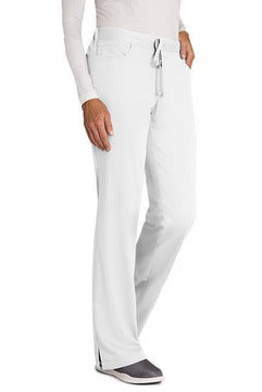 Grey's Anatomy - Women's Nurse Scrub Pant 4232 2XL - 5XL Scrub Pant Grey's Anatomy 2XL White 77% Polyester / 23% Rayon