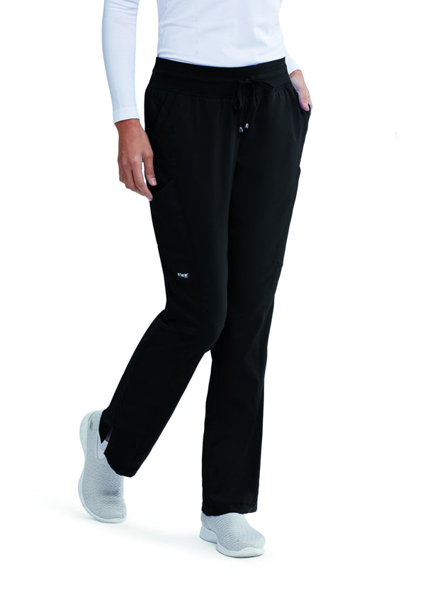 Grey's Anatomy Classic Scrub Pant 2XL / 01 Black Ladies Avana Scrub Pant 2XL - 3XL