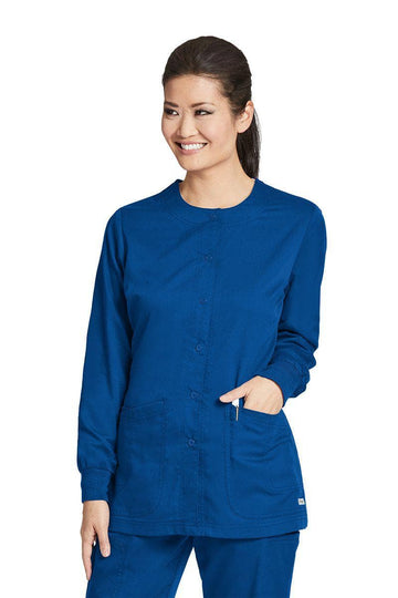 Ladies Warm-Up Scrub Jacket 2XL-5XL