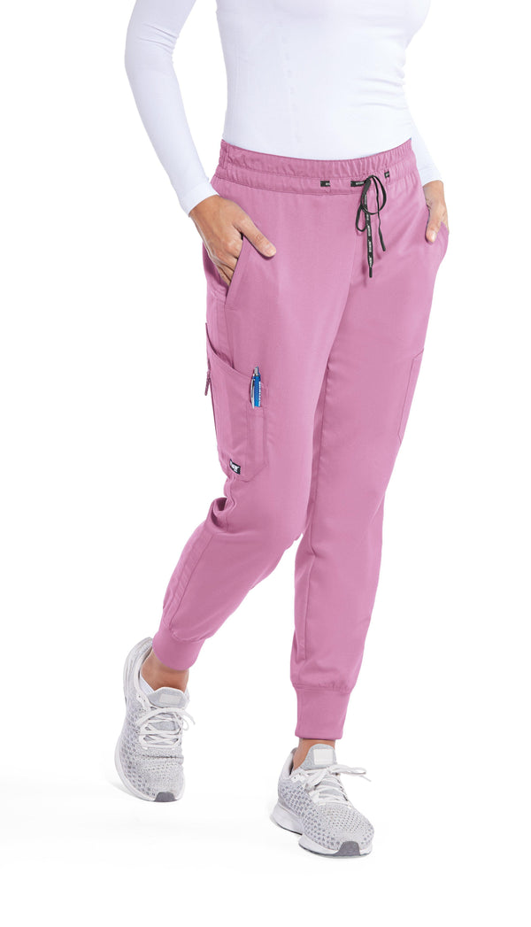 Grey's Anatomy Classic Scrub Pant 2XL / 1786 Orchid Bouquet Ladies Kira Scrub Pant 2XL - 3XL