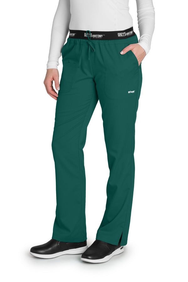 Grey's Anatomy Classic Scrub Pant 2XL / 37 Hunter Ladies 3 Pocket Scrub Pant 2XL-5XL