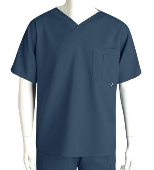 Grey's Anatomy Classic Scrub Top XL / 905 Steel Men's 3 Pocket Scrub Top 2XL - 5XL