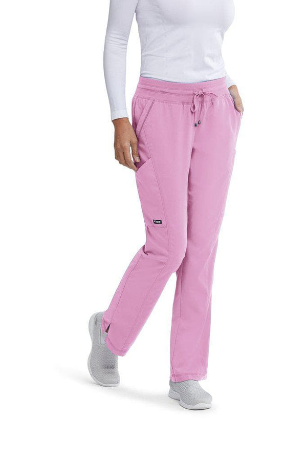 Grey's Anatomy Classic Scrub Pant XST / 1786 Orchid Bouquet Ladies Avana Scrub Pant Tall