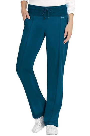 Ladies 4 Pocket Scrub Pant Petite