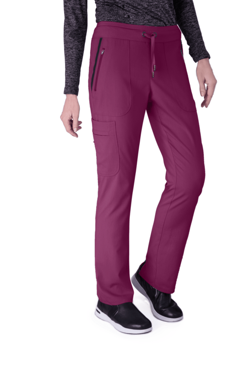 Grey's Anatomy IMPACT Scrub Pant XXS / 65 Wine Ladies Elevate Scrub Pant 2XL-3XL