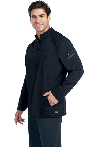 SKECHERS by Barco - Men's Structure Warm-Up Scrub Jacket SK0408