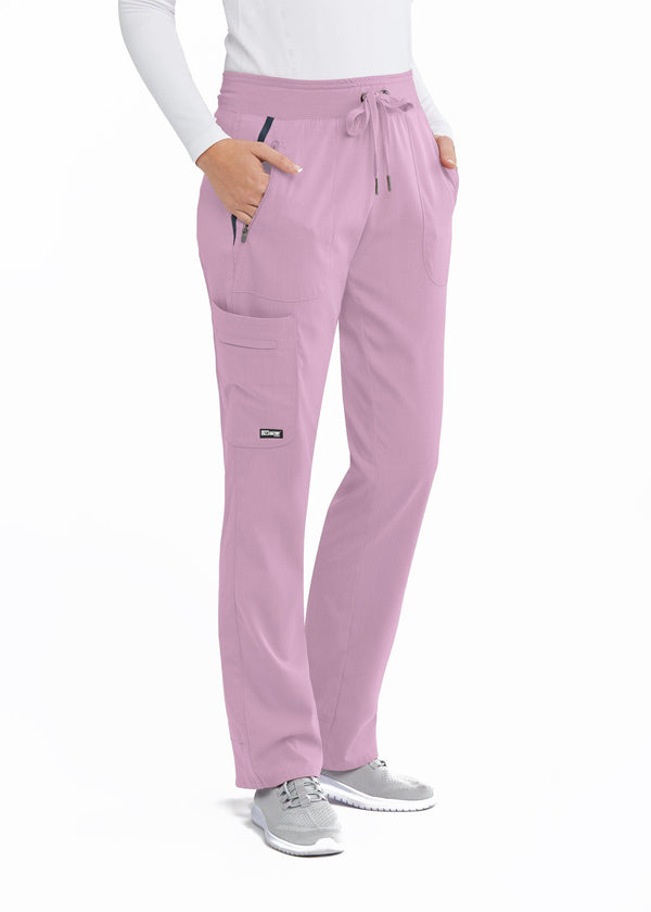 Grey's Anatomy IMPACT Scrub Pant XXST / 1874 Rose Chiffon Ladies Elevate Scrub Pant Tall