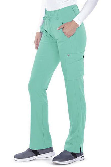 Grey's Anatomy Signature Scrub Pant 4 Way Stretch Grey's Anatomy Signature - Ladies Olivia Scrub Pant 2218 PETITE