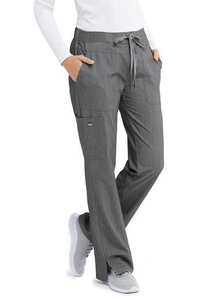 Grey's Anatomy Signature Scrub Pant 4 Way Stretch Grey's Anatomy Signature - Ladies Dental Scrub Pant 2207 Tall