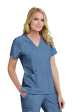 Ladies Astra Scrub Top 2XL-5XL