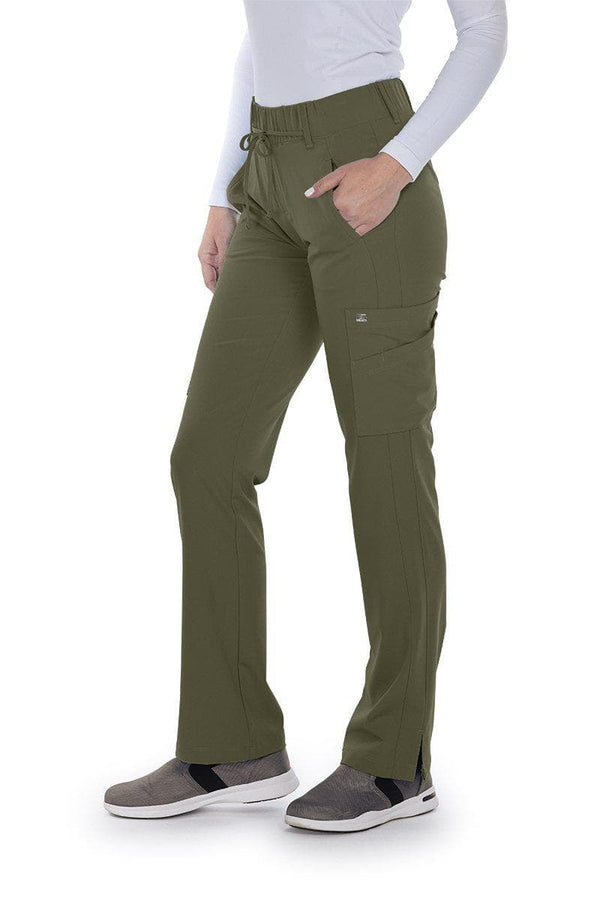 Grey's Anatomy Signature Scrub Pant 2XL / 312 Olive Ladies Olivia Scrub Pant 2XL-5XL