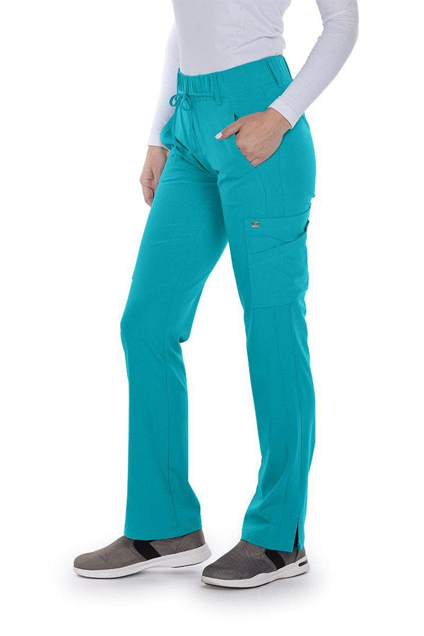 Grey's Anatomy Signature Scrub Pant 2XL / 39 Teal Ladies Olivia Scrub Pant 2XL-5XL