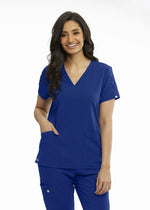 Grey's Anatomy Signature Scrub Top 2XL / 503 Galaxy Ladies Astra Scrub Top 2XL-5XL