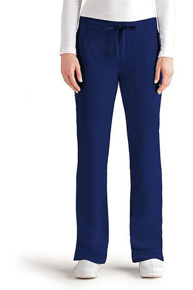 Grey's Anatomy Signature - Women's Dental Scrub Pant 2XL-5XL 2207 Scrub Pant 4 Way Stretch Grey's Anatomy Signature 2XL Indigo 71% Polyester / 24% Rayon / 5% Spandex