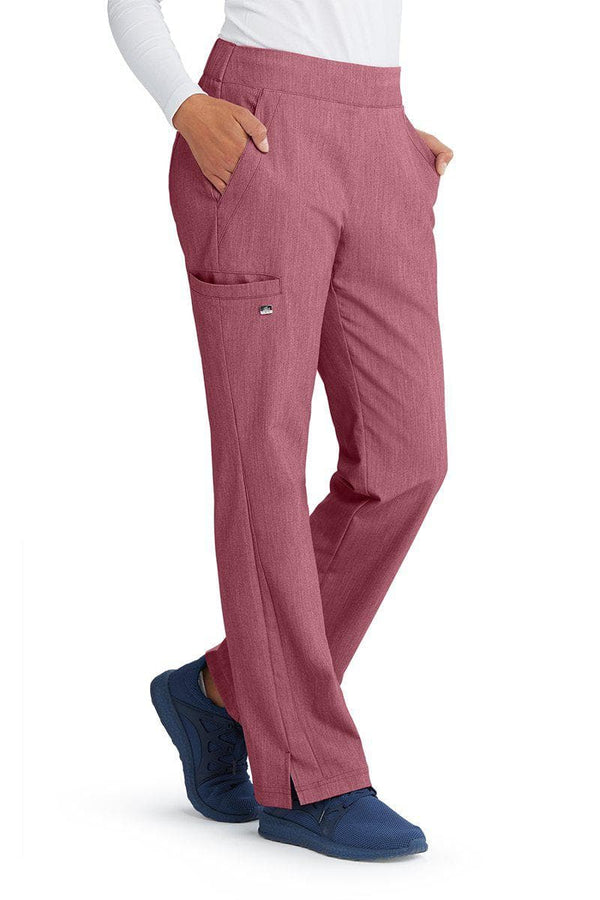 Grey's Anatomy Signature Scrub Pant XSP / 1561 Wine Shade Ladies Astra Scrub Pant Petite