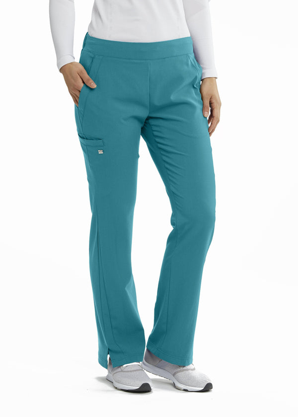 Grey's Anatomy Signature Scrub Pant XST / 39 Teal Ladies Astra Scrub Pant Tall