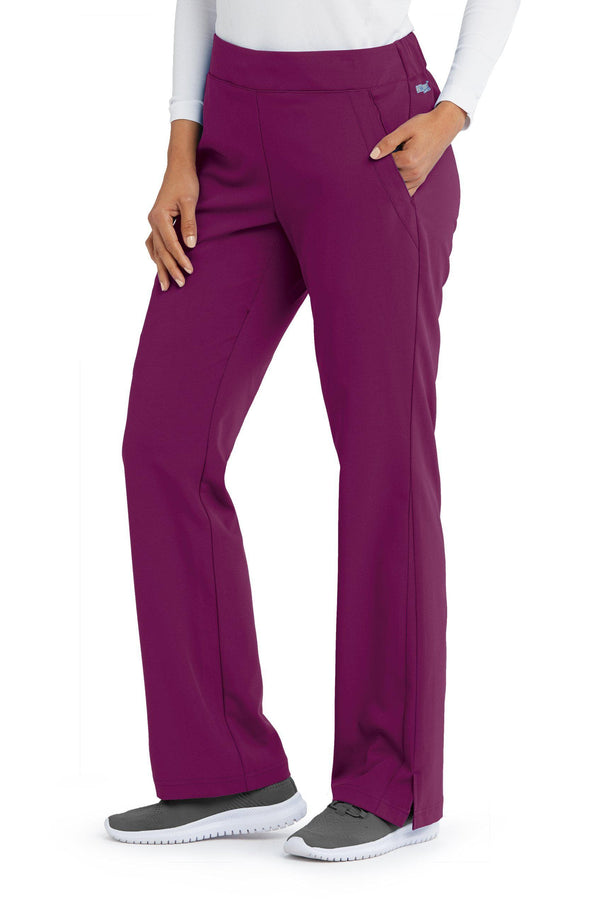 Grey's Anatomy Signature Scrub Pant XST / 65 Wine Ladies Astra Scrub Pant Tall