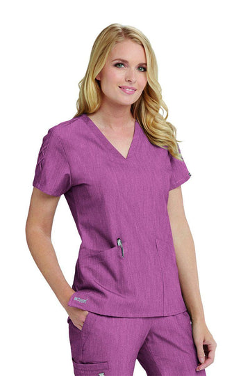 Ladies Astra Scrub Top