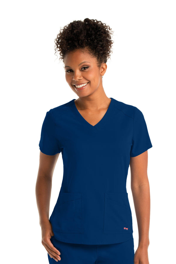 Ladies Emma Scrub Top 2XL - 5XL
