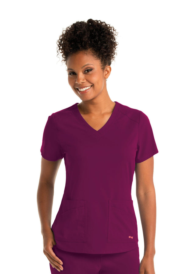 Ladies Emma Scrub Top