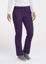 Grey's Anatomy + Stretch Scrub Pant XXST / 1277 Eggplant Ladies Kim Scrub Pant Tall