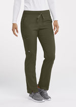 Grey's Anatomy + Stretch Scrub Pant XXST / 312 Olive Ladies Kim Scrub Pant Tall