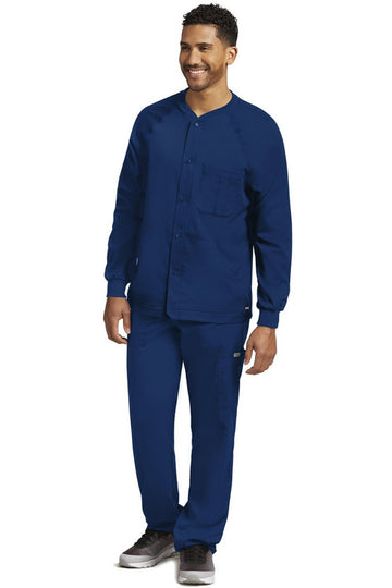 Men's Warm-Up Scrub Jacket